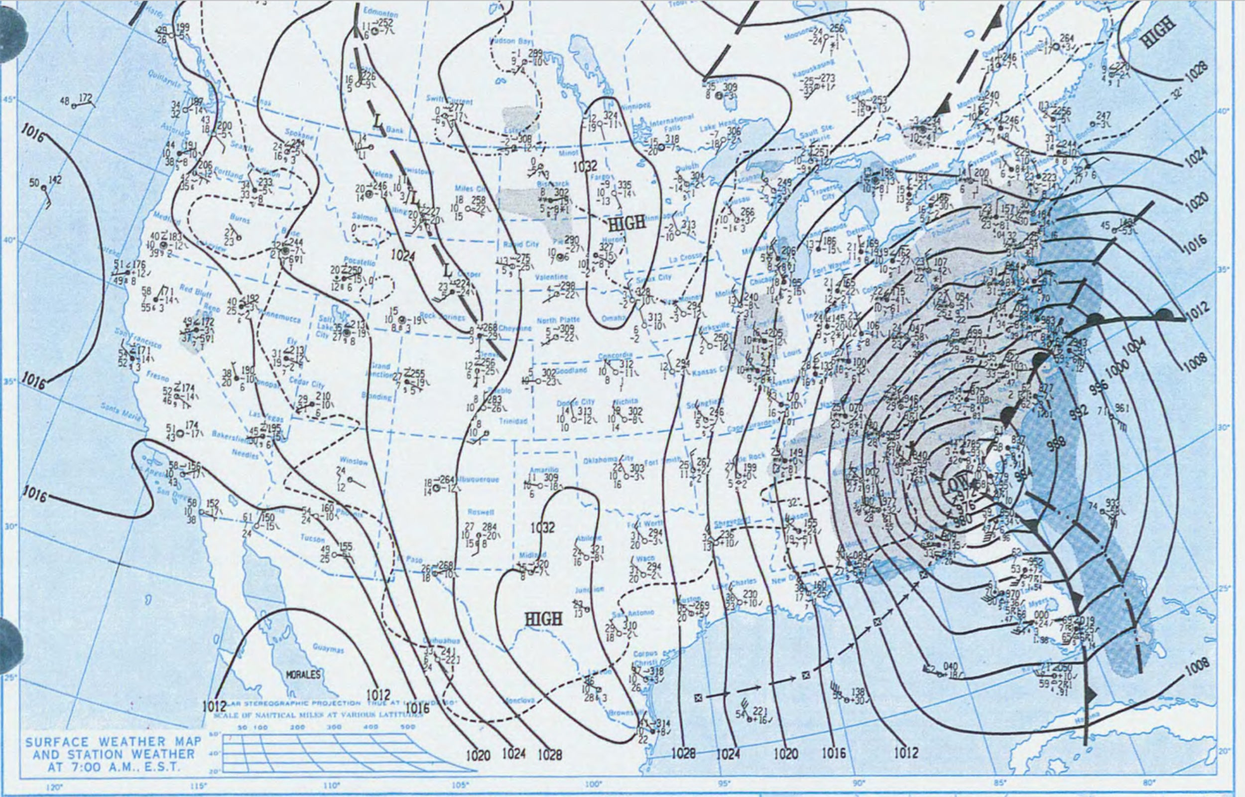 The historic superstorm of March 1993