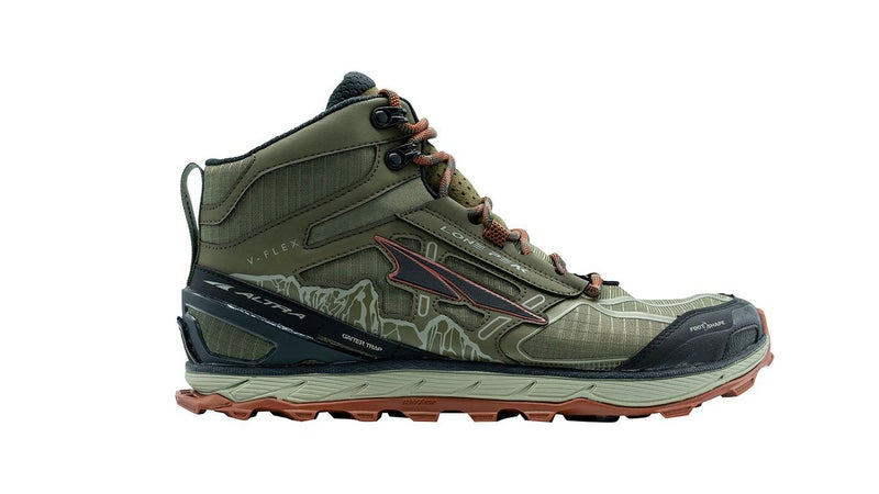 The Altra Lone Peak 4 Mid Mesh combines the weight and breathability of a trail runner with the ankle protection of a mid-rise hiking boot.