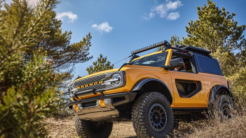 With 200 accessories available for the Bronco, and 100 available for the Bronco Sport, from launch, owners are not going to want for the ability to customize their vehicles.