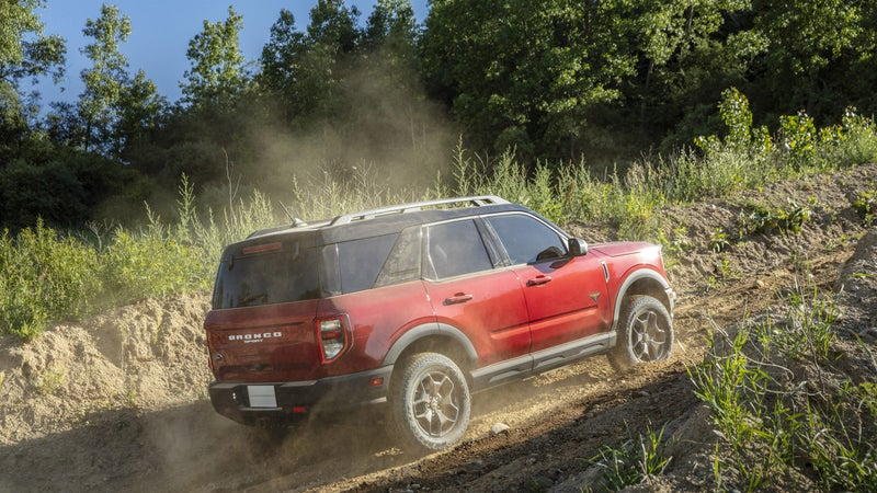 Quality suspension and actual 4WD promise to make the Bronco Sport genuinely capable.