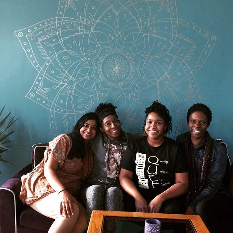 Co-op members Lakshmi Nair, Beverly Grant, Aishah Muhammad, and Natasha Chaoua.