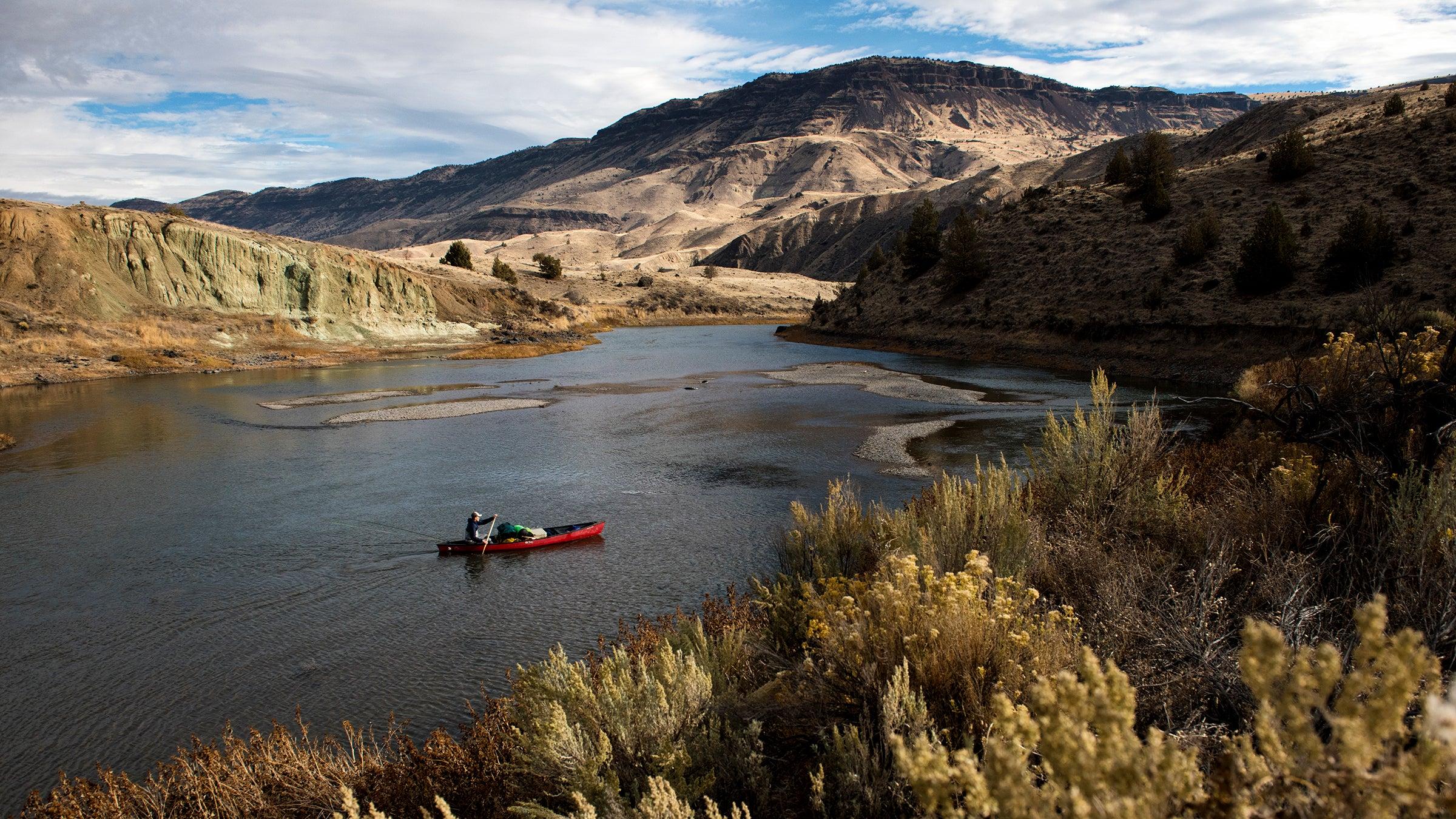 The John Day River, Oregon