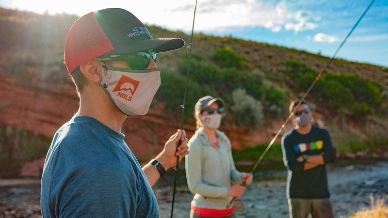 NOLS Red Canyon Backpacking Covid-19 Shoot 7/16