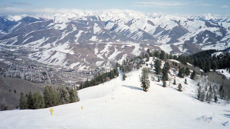 Sun Valley Ski Slope