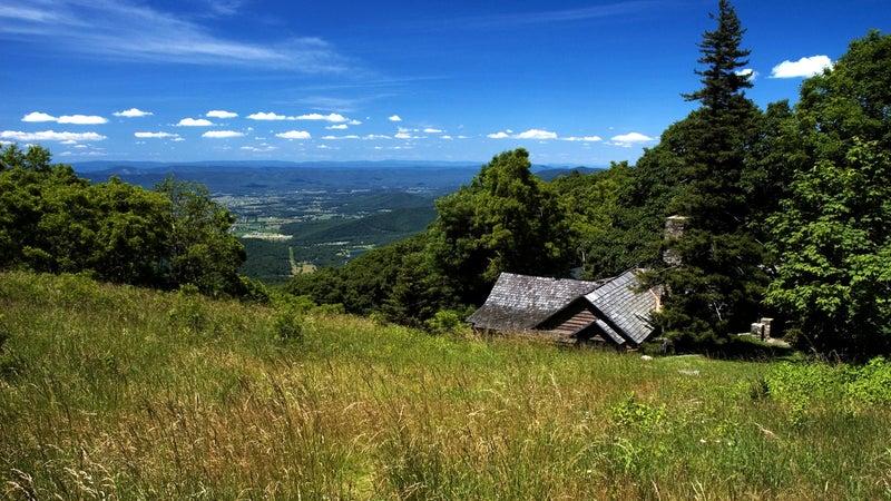 Skyland in Shenandoah, Blue Ridge Mountains, Virginia
