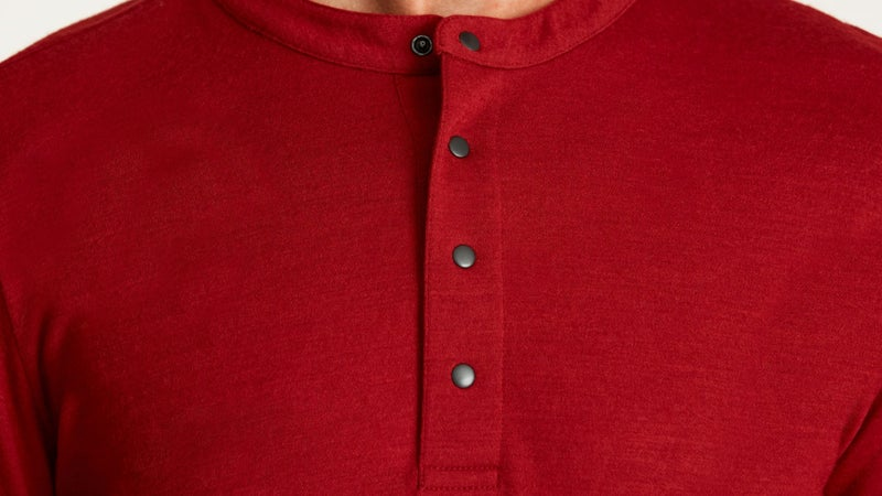 Aether uses incredibly smooth, Japanese-sourced merino wool to make this Henley, which looks just as good on its own as it does under a shirt. Being able to take off or add layers as needed, while dressing in a fashion you like, will be be key to responding to unpredictable seating conditions at restaurants.