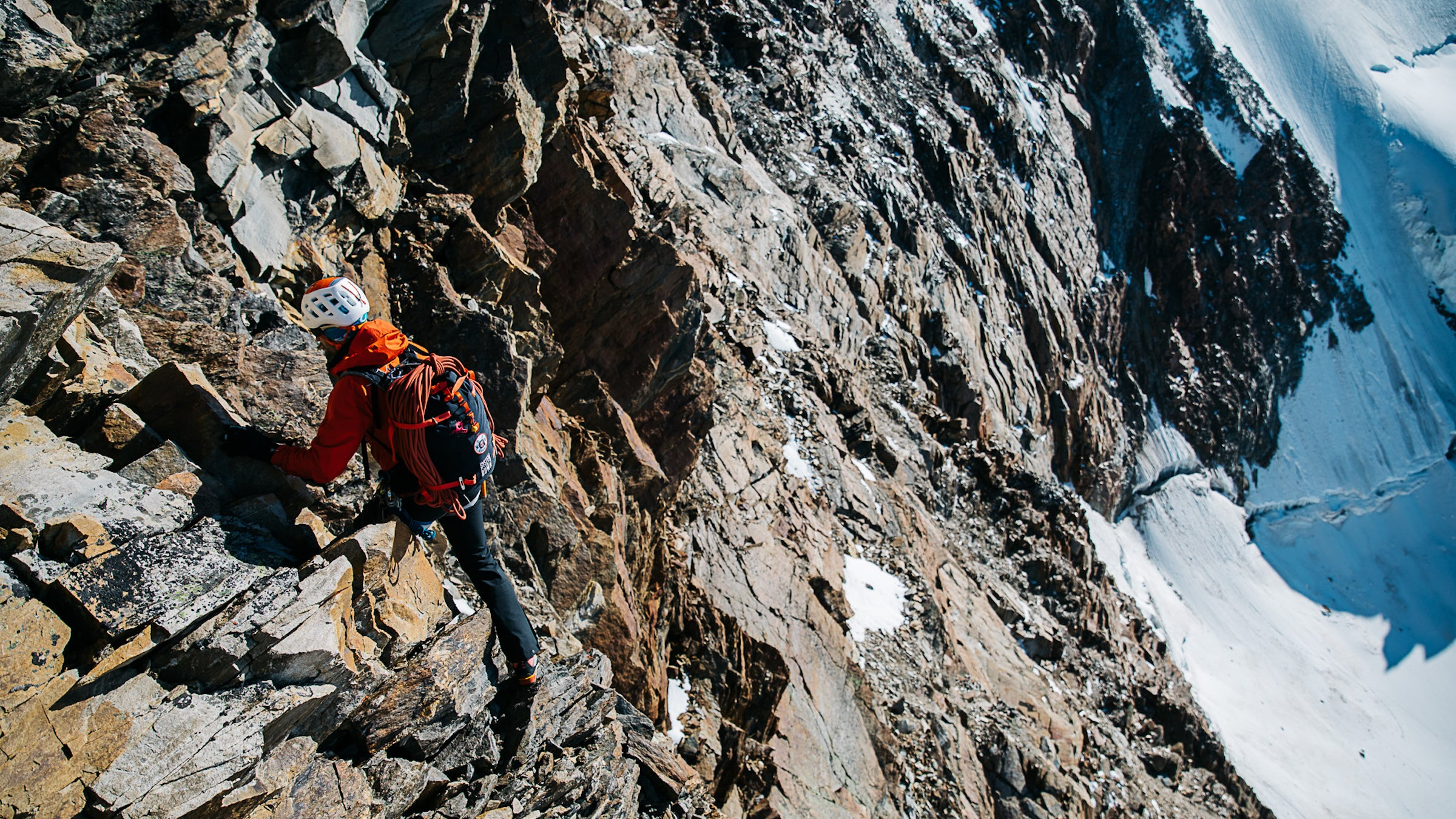 The Mont Blanc mountain range is becoming more dangerous to climb as permafrost melts and rocky areas start to crumble.