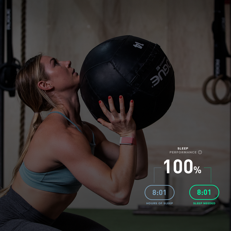 Brooke Wells uses her sleep data to help determine how hard to push herself in training the next day.