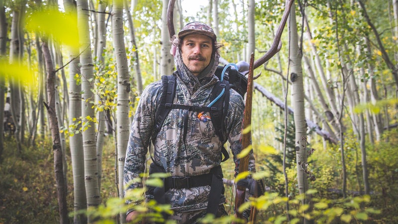 The author during his 2018 archery hunt.
