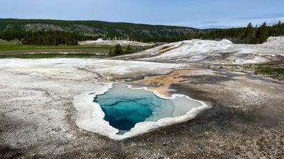 Hot spring at Upper Geyser Basin
