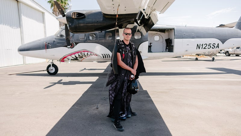 Corliss at Skydive Perris in Southern California