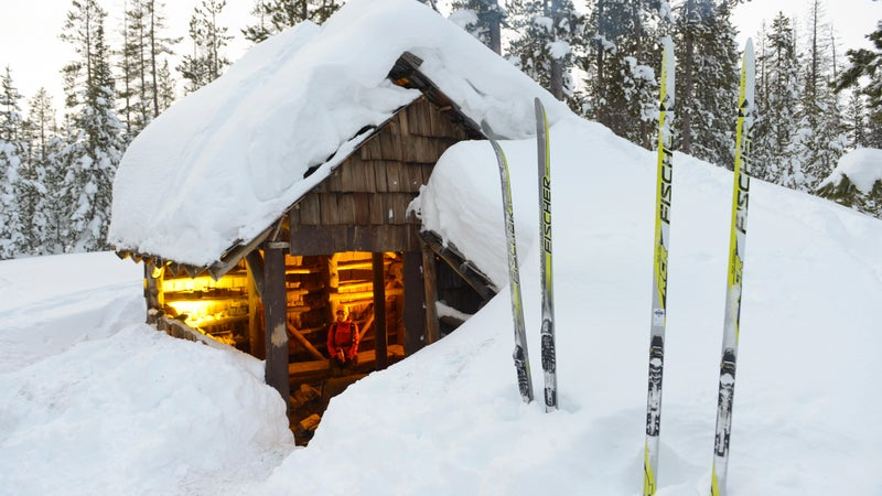 A backcountry hut in Oregon