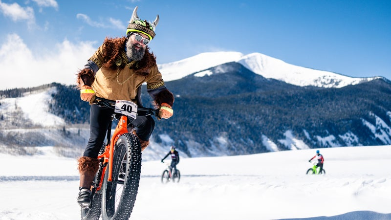 The Fat Bike World Championships at Crested Butte, Colorado