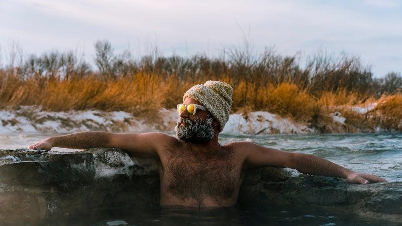 Hot springs in Montana