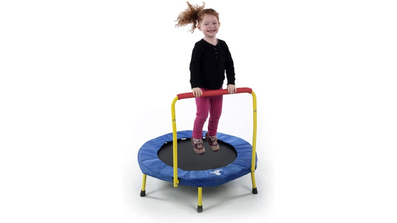Actual danger is relative, and often deceiving. Trampolines might slip past some parents easier than technically less dangerous gifts like knives.