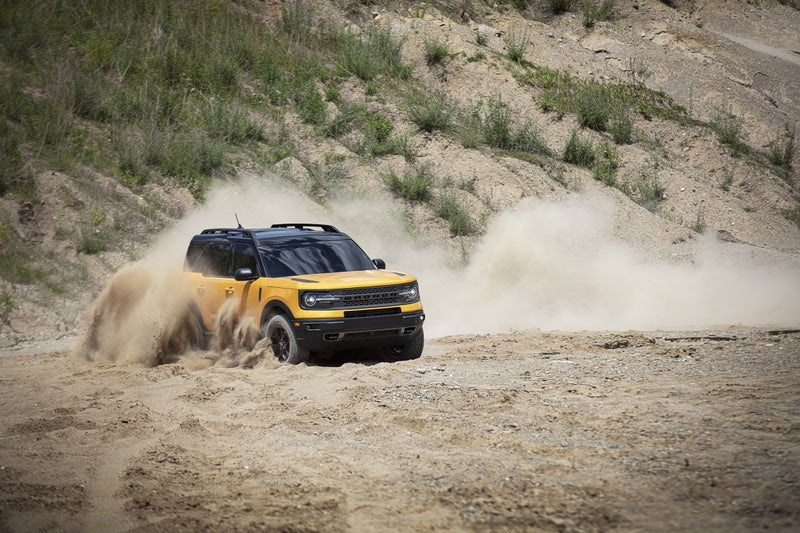 The Bronco Sport is a unibody crossover about the same size as a Subaru Forester. It'll be faster, more fuel efficient, and much more capable off-road.