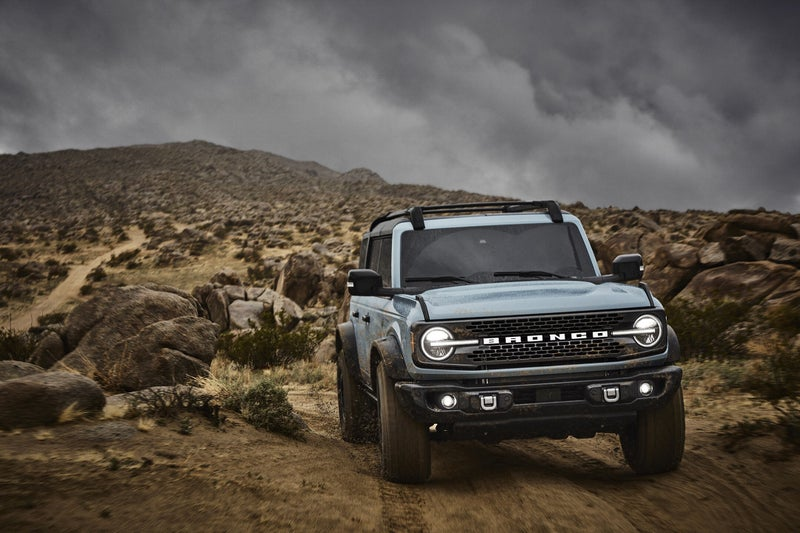 The Bronco is a midsize, body-on-frame SUV similar in size to rivals like the four-door Jeep Wrangler and the Toyota 4Runner. It'll be more capable than either.