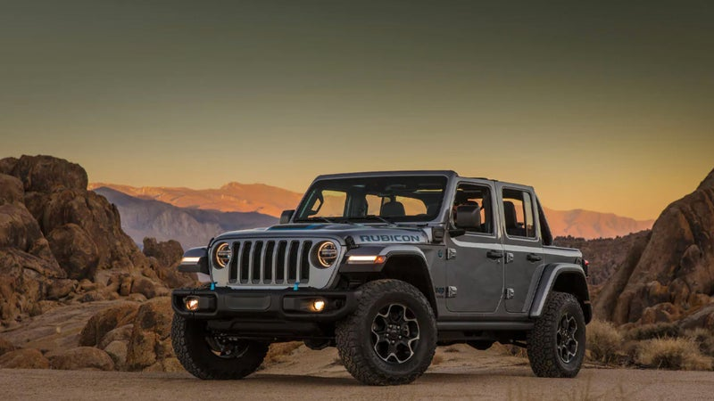 A plug-in hybrid, the Jeep Wrangler 4xE increases fuel economy and performance.