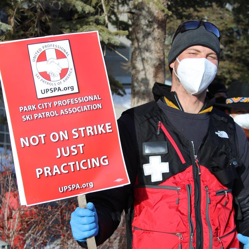 Patrollers are asking for wage increases, disability insurance for seasonal workers, waterproof uniforms, and regular sick leave.