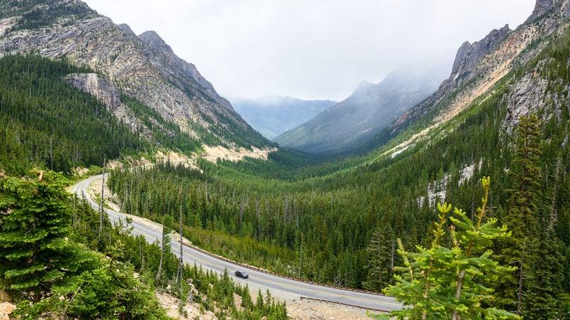 North Cascades Highway, Washington-USA
