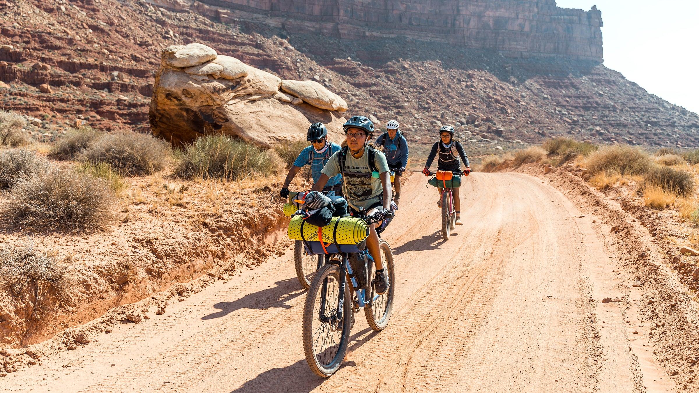 Bikepacking with Dzil Ta'ah Adventures