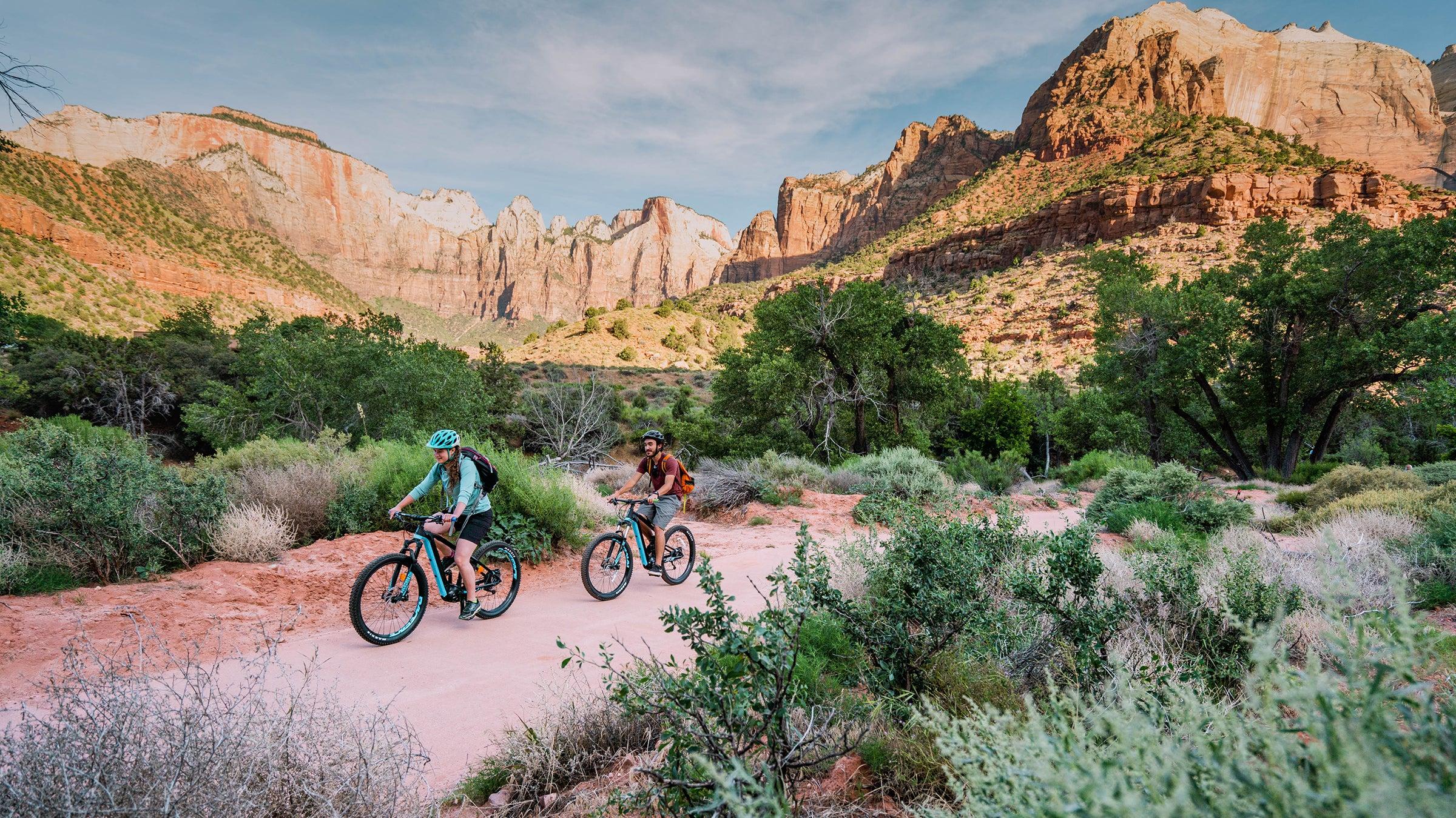 Biking Utah's Zion Canyon