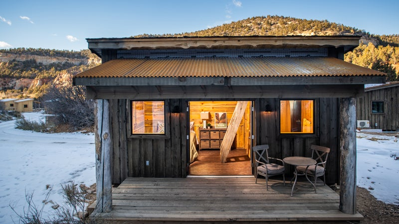 We rounded up some of our favorites, ranging from a tiny house with a killer hot tub to a solar-powered retreat on an apple orchard.