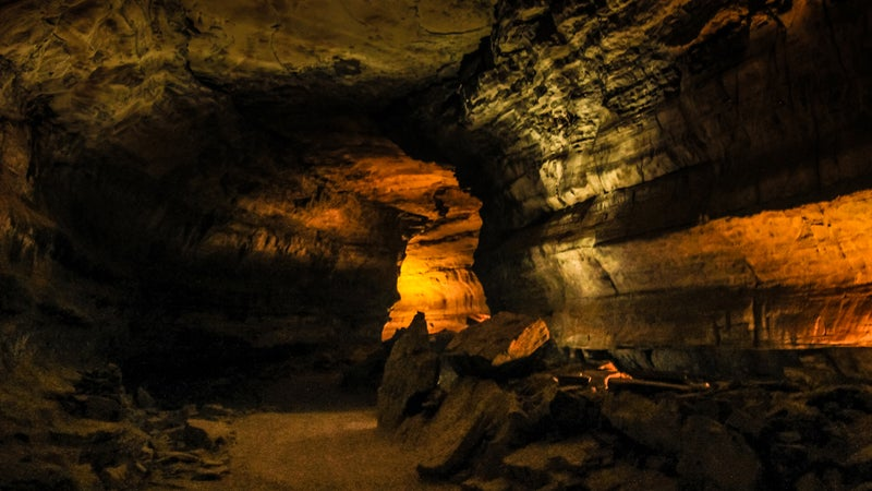 Passage within Mammoth Caves