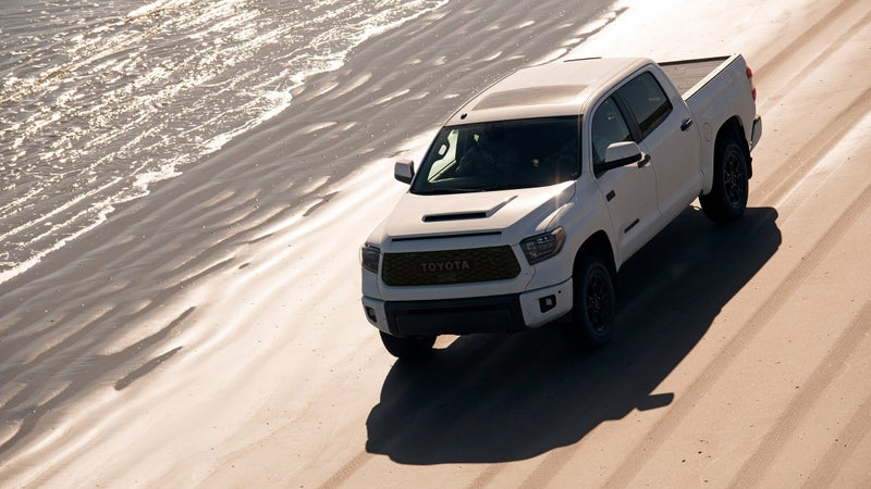 A lot of people think a full-size truck like the Tundra is going to be too big and too inefficient for their needs. But if you hope to carry more than just passengers and simple camping gear, or if you want to perform any sort of modification, then the more robust platform offered by the Tundra is simply what you need.