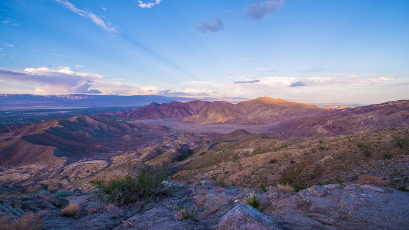 Coachella Valley Sunset