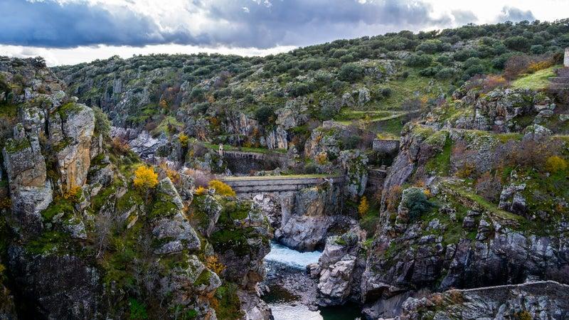 Lozoya River Canyon, Sierra Norte, Madrid, Spain