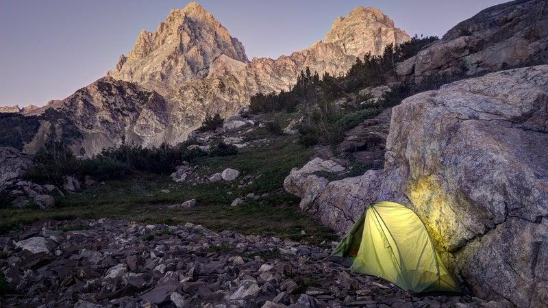 Tent Camping in Upper Cascade Creek