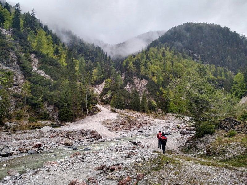 Tra Valbruna e Passo Pramollo