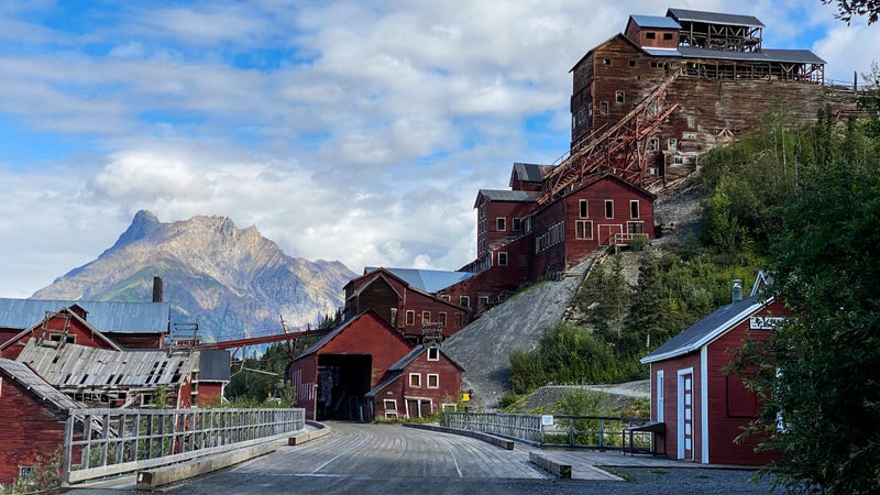 This historic copper mining town of Kennicott