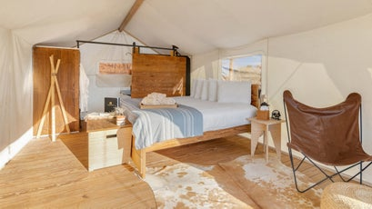 Under Canvas accommodations