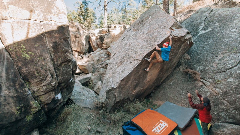 Bouldering in New Mexico