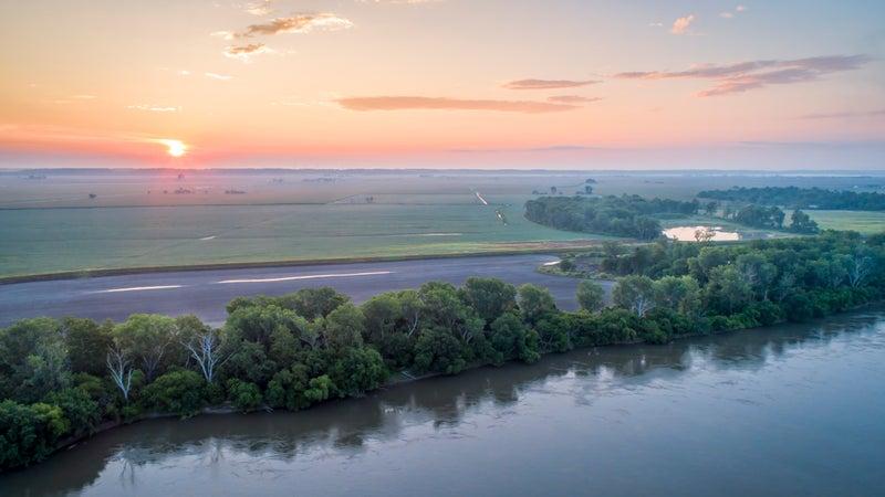 Missouri River at Brownville, Nebraska