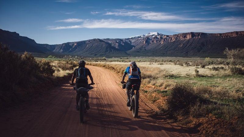 Biking Kokopelli Trail, McInnis Canyons National Conservation Area