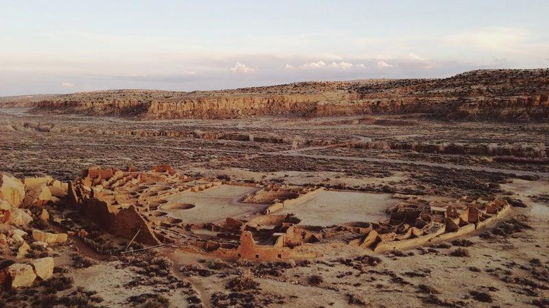 Pueblo Ruins Landscape