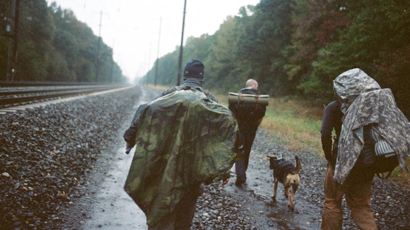 Junger and his group continue their journey along America's train tracks.