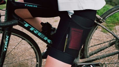 Rapha's Core Cargo shorts have pockets big enough to fit a phone or a diary.