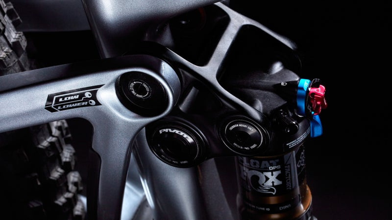 """A flip chip enables the rider to switch the bike between """"Low"""" and """"Lower"""" configurations."""