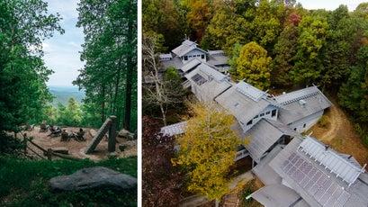 The views from Len Foote Hike Inn, Georgia