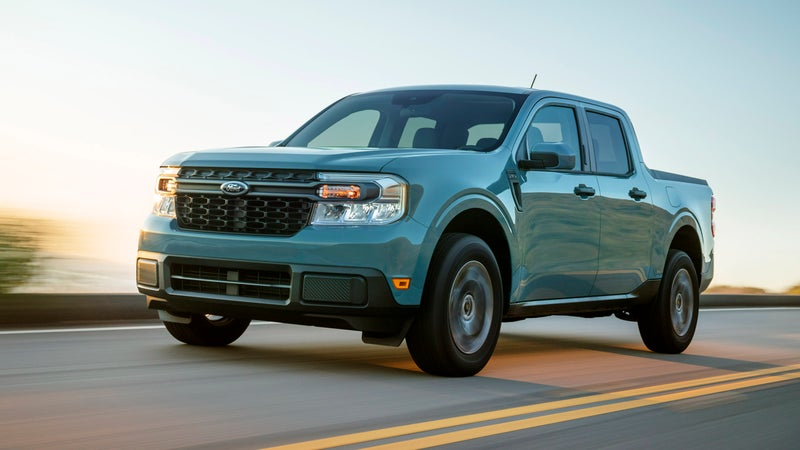 The Maverick draws heavily from the F-150's design, and bucks current crossover trends of being too cute, or too aggressive.