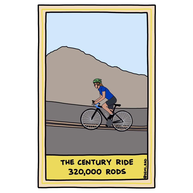 The Century Ride: 320,000 Rods