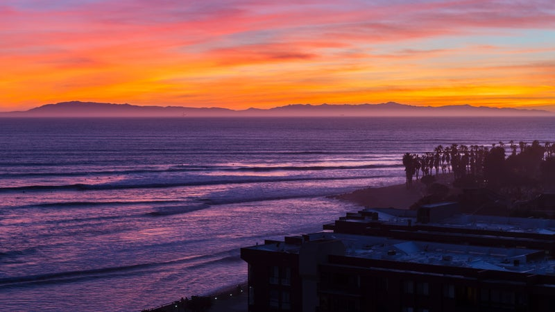 Ventura California Pacific Sunset