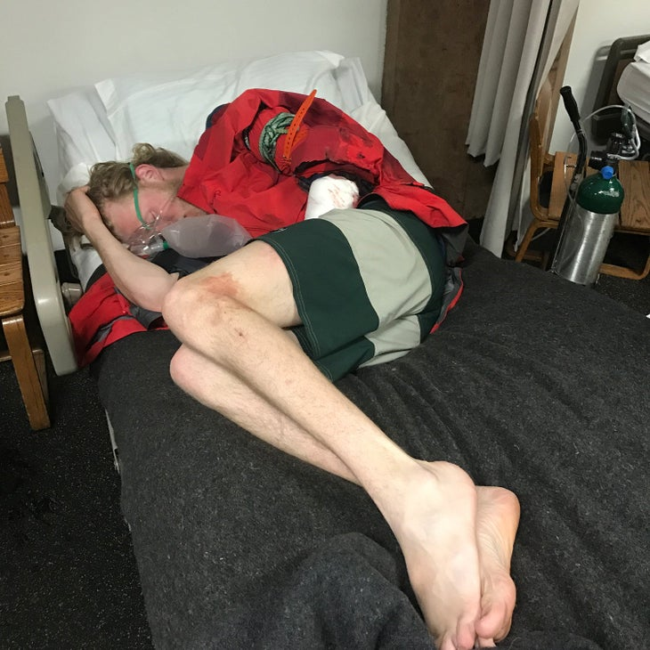 Drew Petersen mental health mountains skiing snow sports injury recovery
