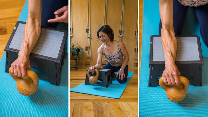 esther wrist isometric extension