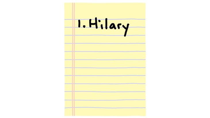 1. Hilary