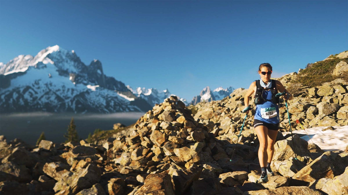 An Inside Look of Hillary Gerardi Taking On the Du Mont-Blanc 90K